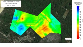 Geophysical Mapping of Sand Unit Thickness