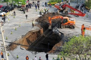 Sinkhole mapping, remediation and treatment