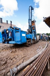 Geotechnical drilling equipment
