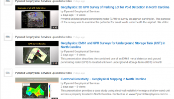 pyramid geophysical services youtube videos