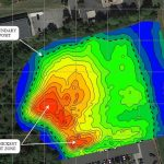 conductivity map of coal ash