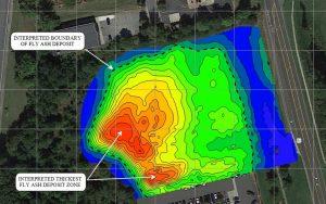 EM conductivity map
