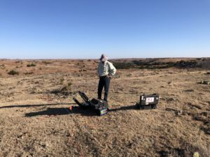 Resistivity can be deployed rapidly and requires a relatively small mobilization.